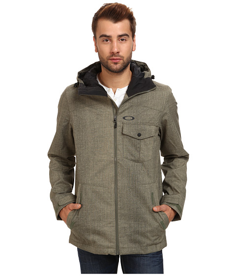 Oakley - Mig Lite Jacket (Worn Olive) Men's Coat