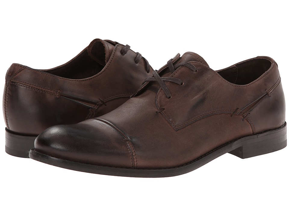 John Varvatos - Star Sid Oxford (Dark Brown) Men's Shoes