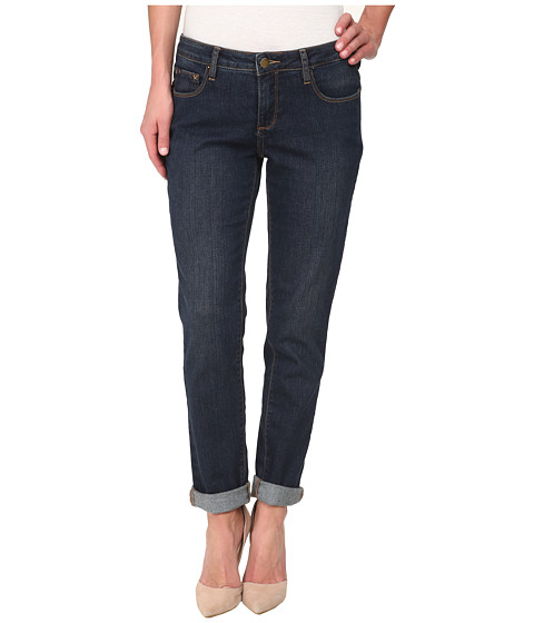 Christopher Blue - Diane Roll Boyfriend Soft Vintage Denim Jean (Night Wash) Women