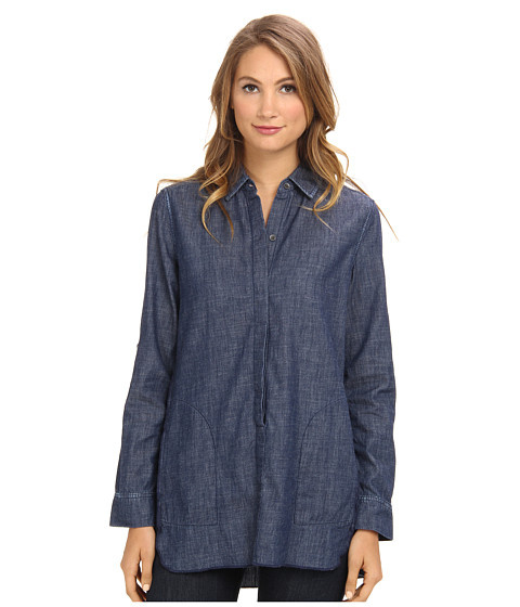 Christopher Blue - Maria Shirt Chambray (Sheridan Wash) Women's Long Sleeve Button Up