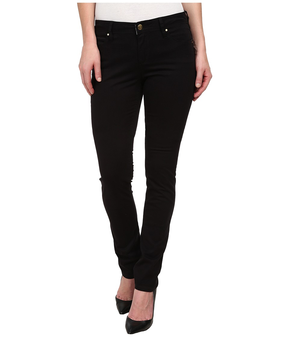 Christopher Blue - Sophia Skinny Carmel Twill (Black) Women's Casual Pants
