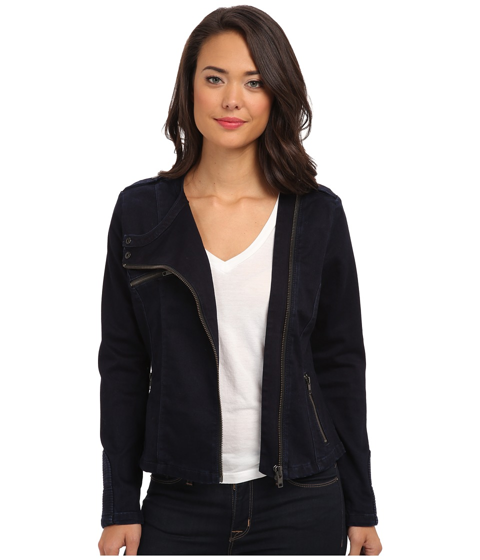 Christopher Blue - Michelle Moto Jacket (Abbot Wash) Women's Coat