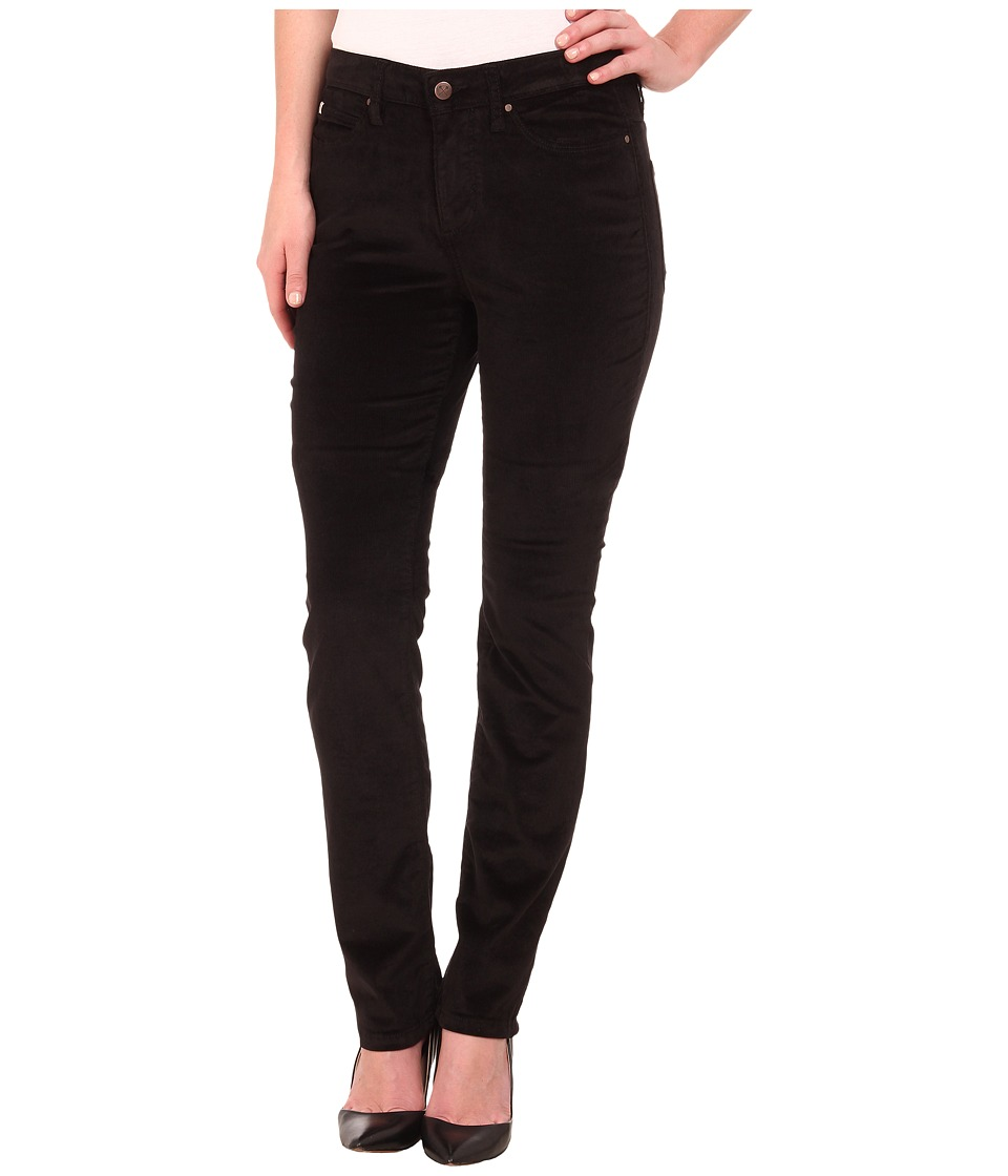 Christopher Blue - Madison Juku High-Rise Straight Land O' Lakes Cord (Black) Women's Casual Pants