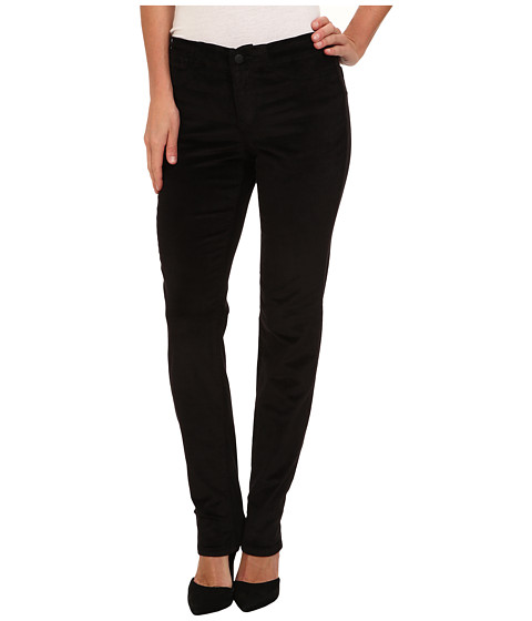 Christopher Blue - Angel Slim w/ E-Waist Land O' Lakes Cord (Black) Women's Jeans
