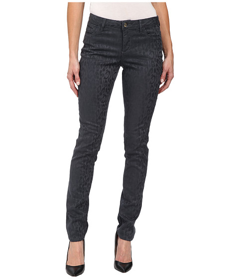 Christopher Blue - Sophia Skinny Jacquard Animal Jean (Darkroom) Women's Jeans