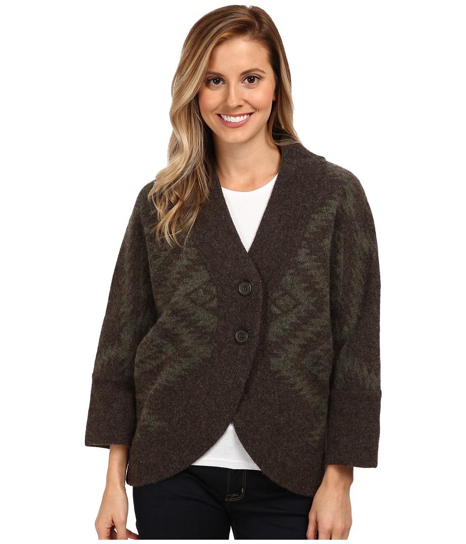 Toad&Co - Merino Shinzo Cardigan (Dark Olive) Women's Sweater