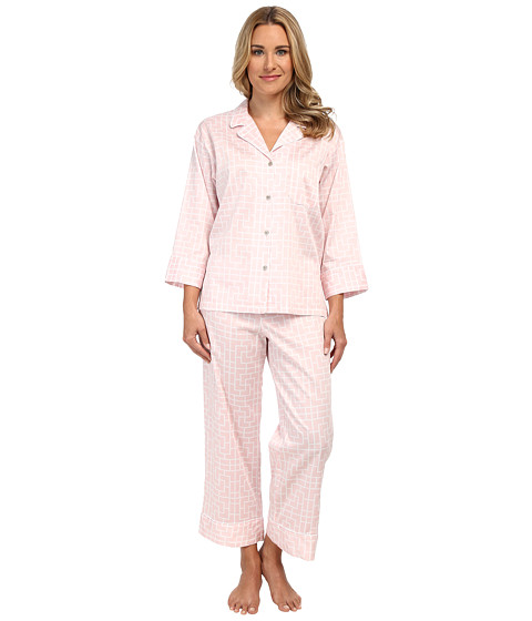 Natori - Ming Notch PJ (Blush Pink) Women's Pajama Sets
