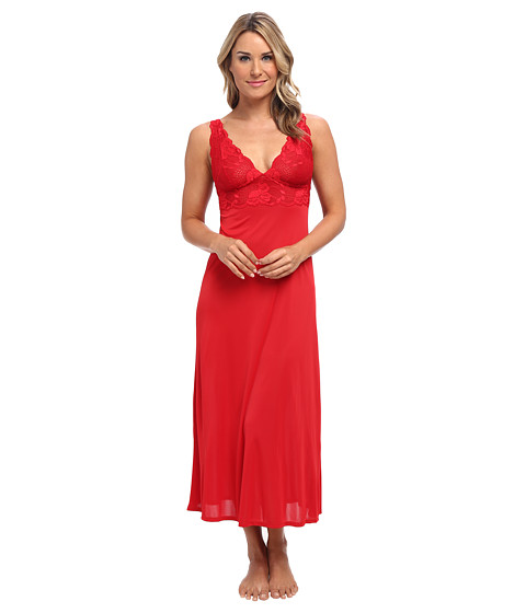 Natori - Boudoir Gown (Russian Red w/ Red) Women