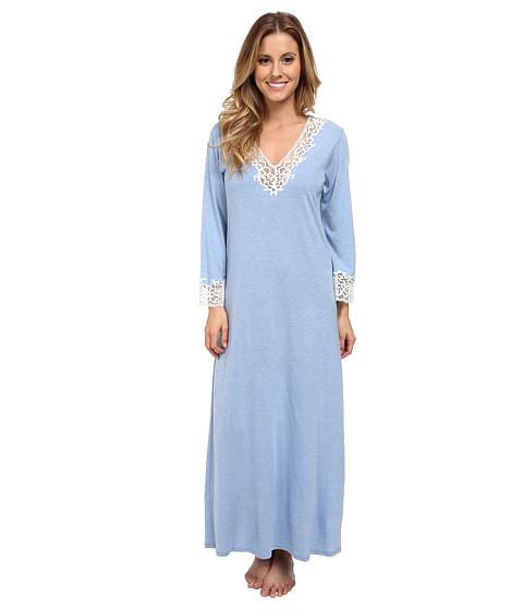 Natori - Lhasa Lounger (Periwinkle w/ Ivory Lace) Women's Pajama
