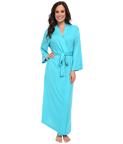 Natori - Shangri-La Robe (Blue Jewel) Women