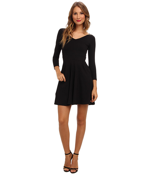 Susana Monaco - Pocket Dress (Black) Women