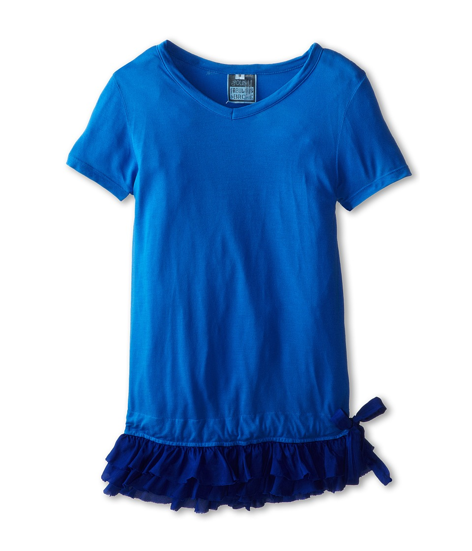 Young Fabulous & Broke Mini - Rara Tunic (Little Kids/Big Kids) (Royal/Ombre) Girl's T Shirt