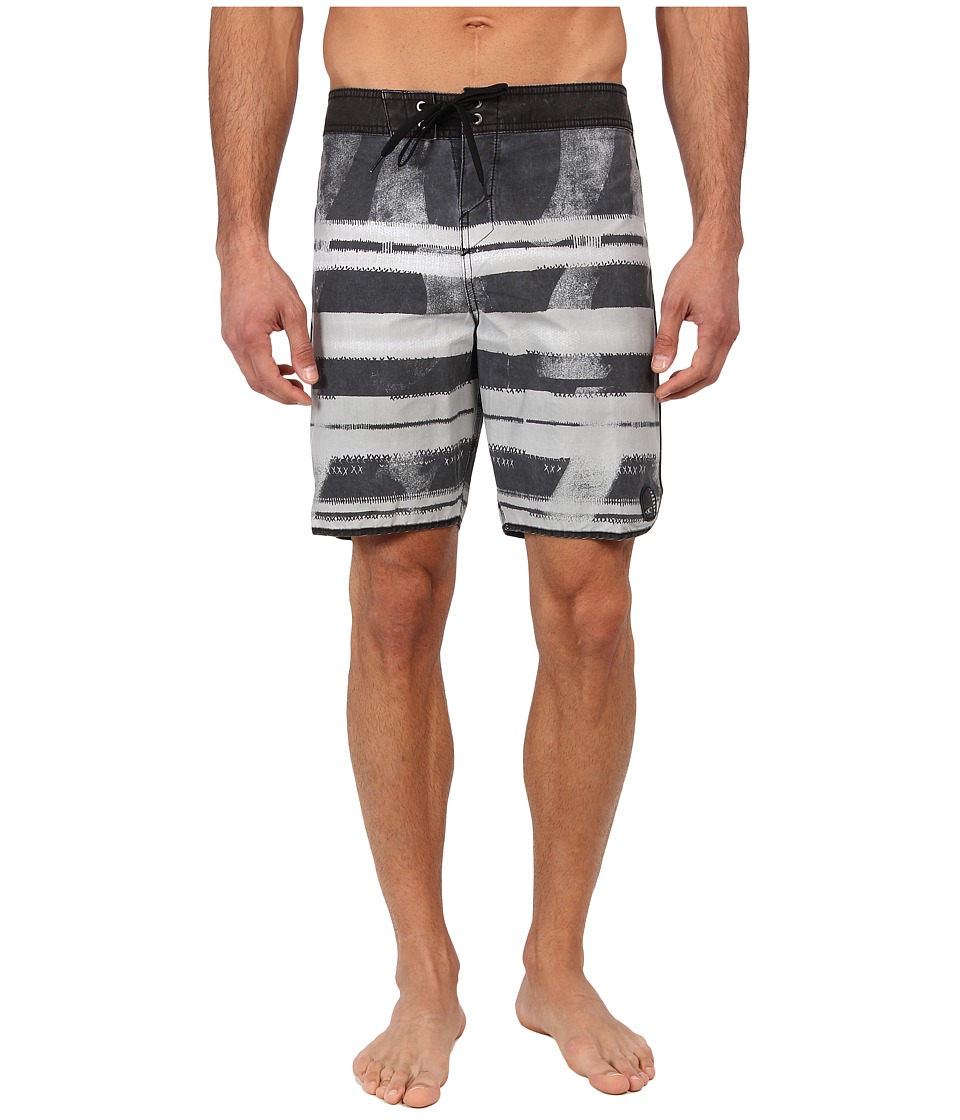 O'Neill - Superfreak Fin Box Boardshort (Black) Men's Swimwear