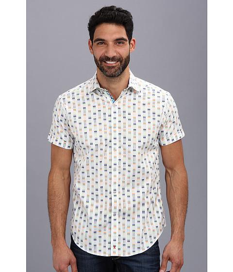 Robert Graham - Nocello S/S Woven Sport Shirt (Multi) Men