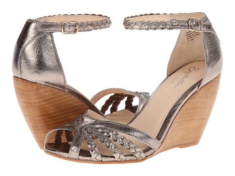 Seychelles - Like a Lady (Pewter) Women's Wedge Shoes