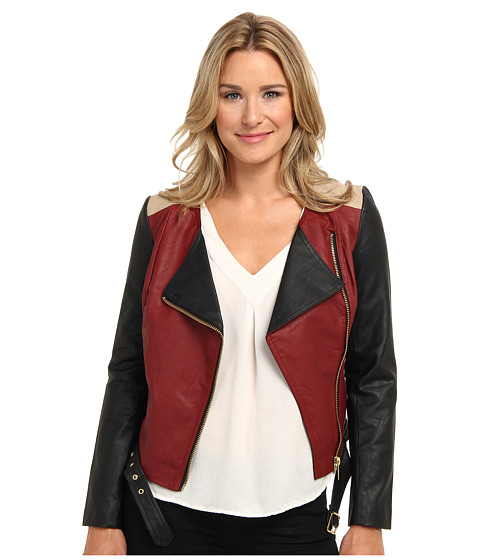 KUT from the Kloth - Alexa Jacket (Dark Cherry) Women's Coat