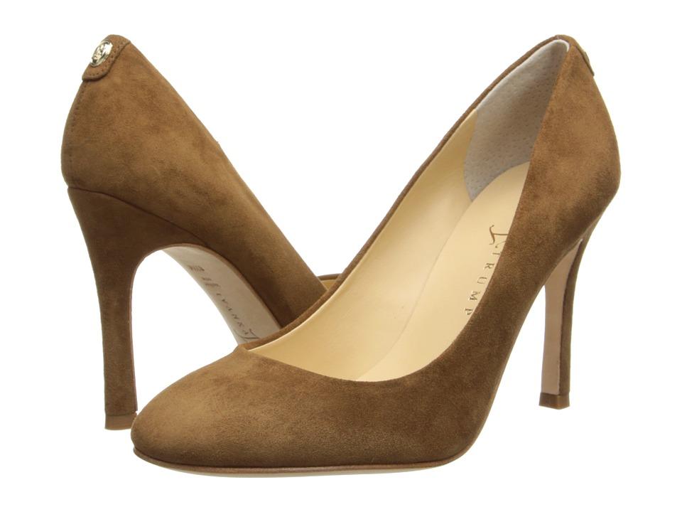 Ivanka Trump Janie (Cognac Suede) High Heels