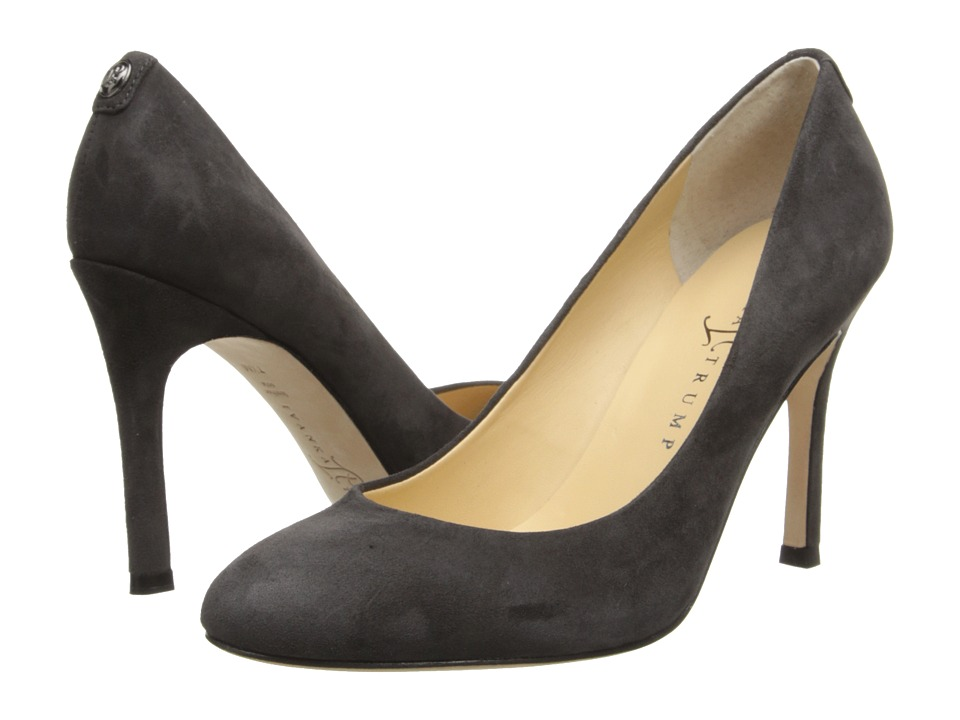 Ivanka Trump Janie (Deep Grey Suede) High Heels