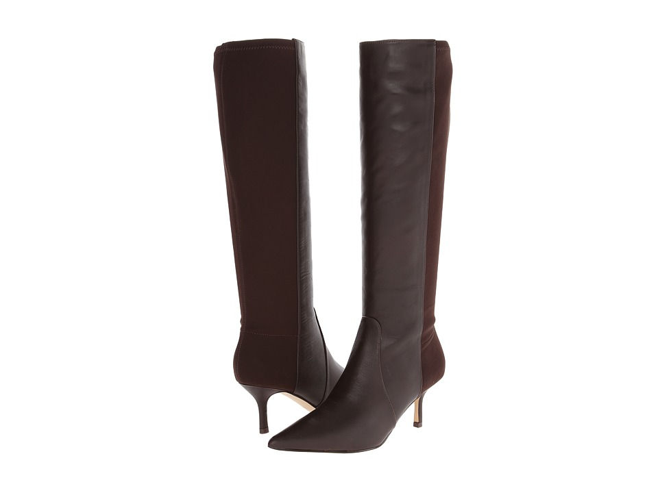 Ivanka Trump - Issa (Brown Leather/Stretch) Women
