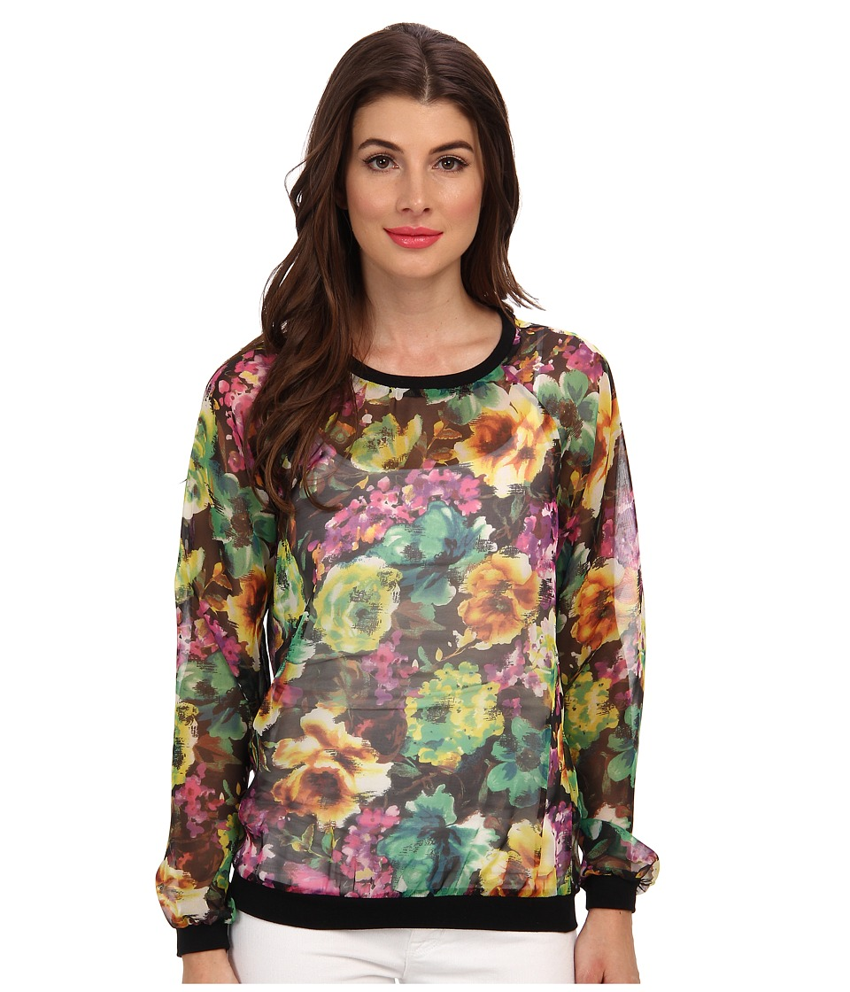 KUT from the Kloth - Naomi Top (Wonder Floral) Women's Blouse