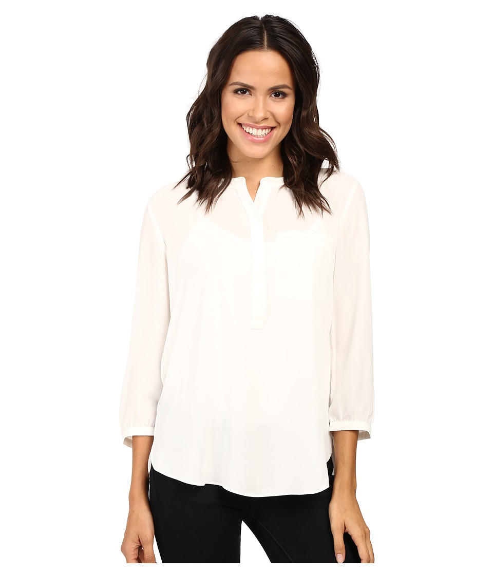 NYDJ - Georgette Blouse (Sugar) Women's Blouse