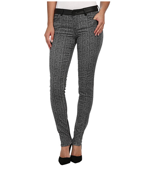 KUT from the Kloth - Diana Skinny in Black/Silver (Black/Silver) Women's Casual Pants