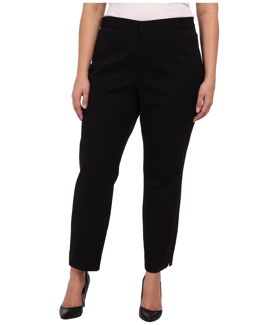 NYDJ Plus Size - Plus Size Ankle Pant Bi-Stretch (Black) Women's Jeans