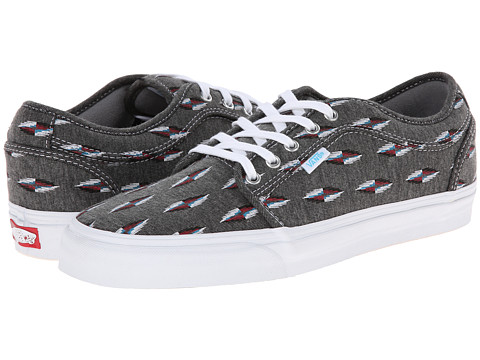 Vans - Chukka Low ((Chimayo) Grey/Jersey) Men