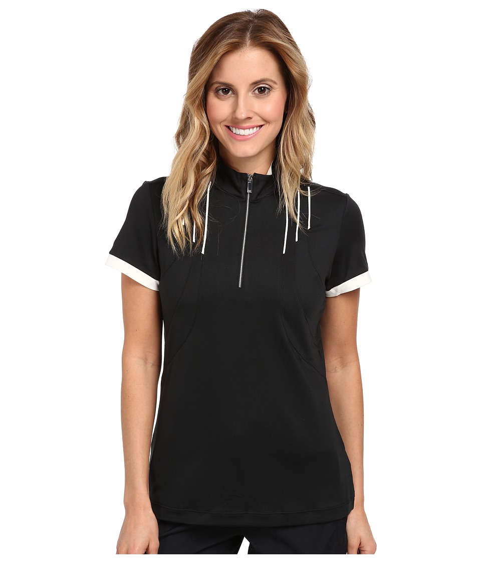Tail Activewear - Lolly Brushed Mock Neck (Black) Women