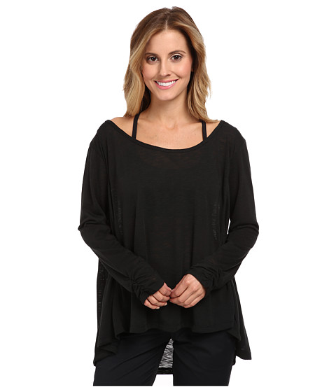 Tail Activewear - Estie Slub Jersey (Black) Women