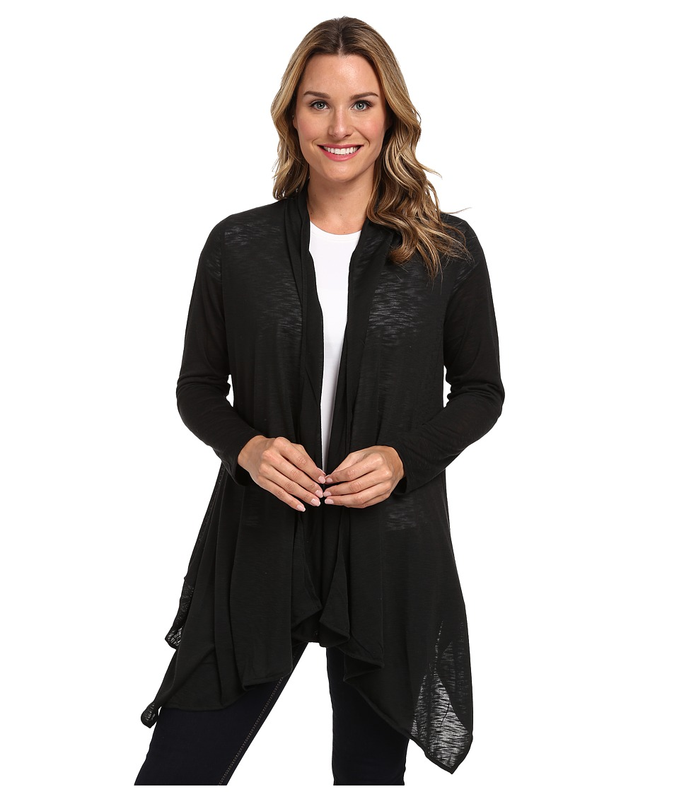 Tail Activewear - Asana Slub Jersey (Black) Women's Sweater