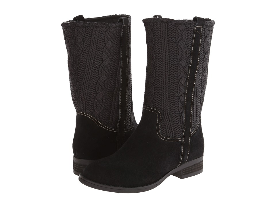 Sbicca - Stateroute (Black) Women's Pull-on Boots