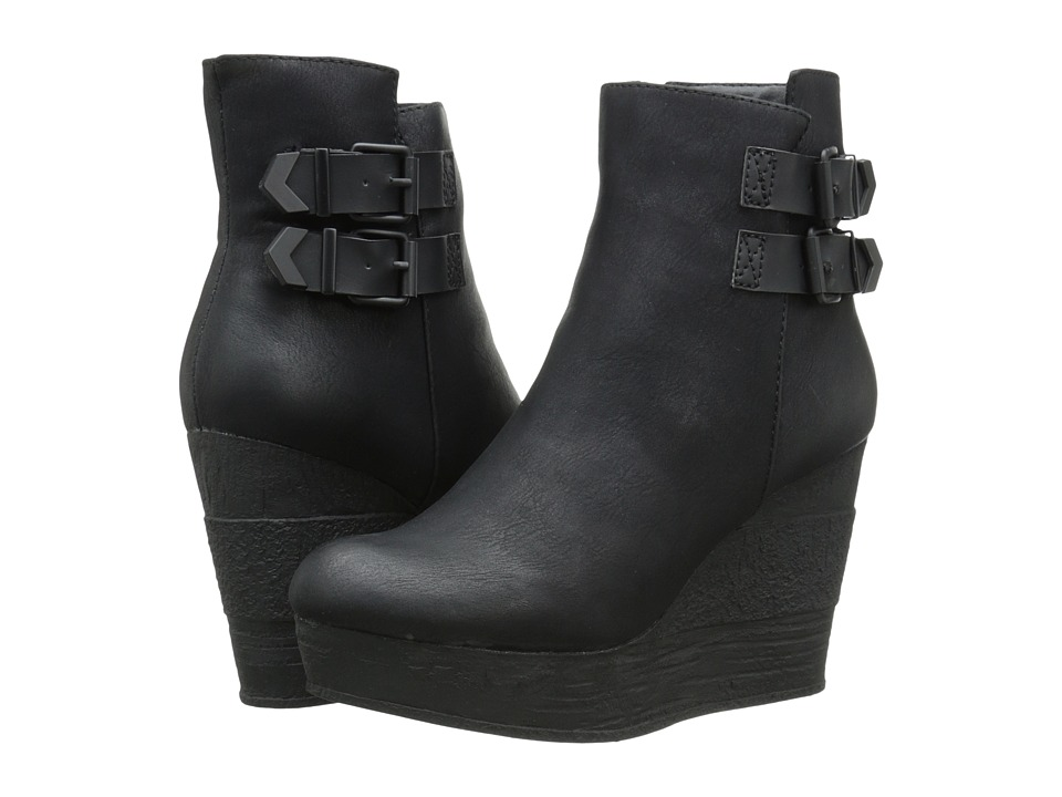 Sbicca - Woodway (Black) Women's Pull-on Boots