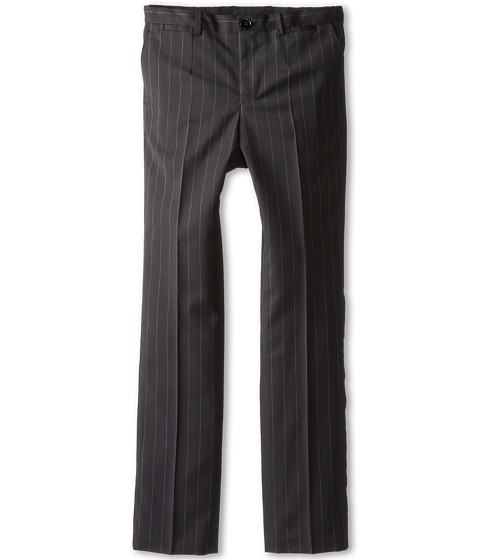 Dolce & Gabbana - Pinstripe Trousers (Big Kids) (Striped) Men's Casual Pants