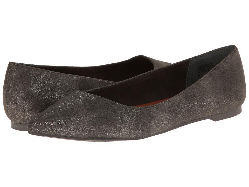 BC Footwear - Rebel (Pewter Suede) Women's Flat Shoes