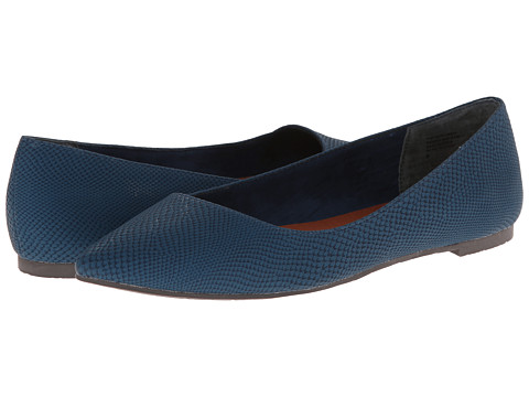 BC Footwear - Rebel (Blue Exotic) Women's Flat Shoes