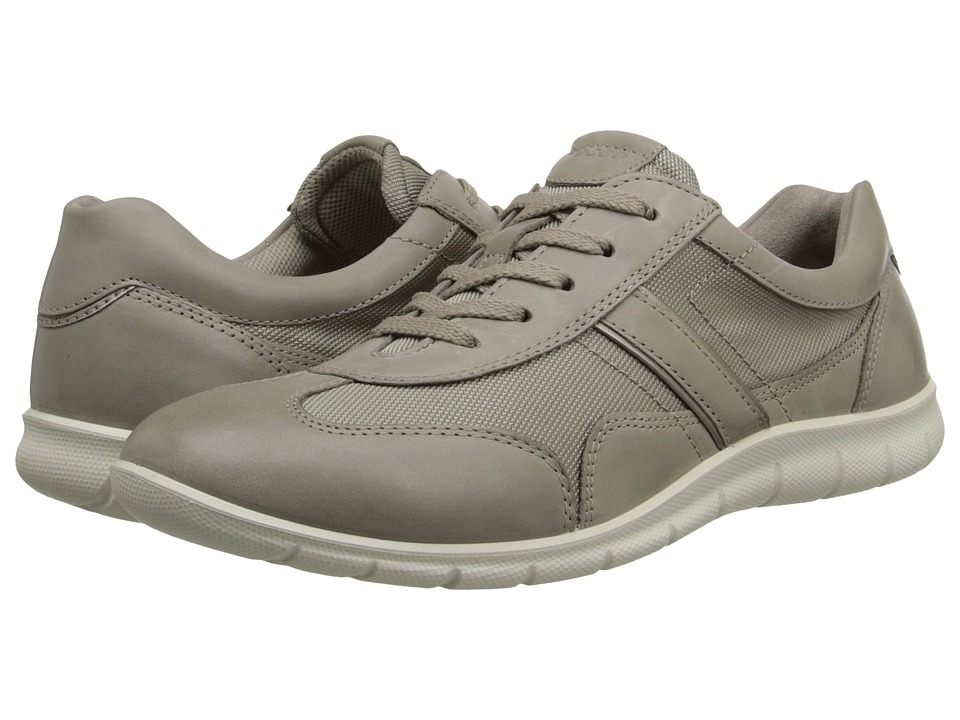 ECCO - Babett Textile Tie (Moon Rock/Moon Rock) Women's Lace up casual Shoes