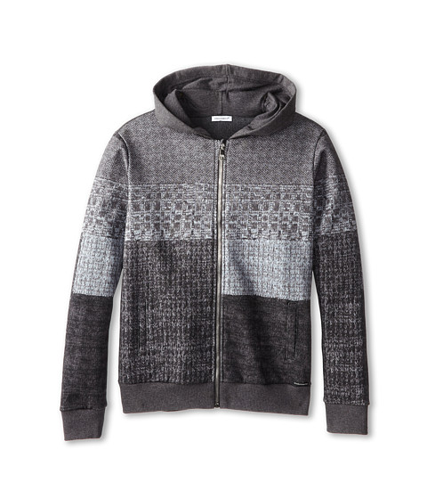 Dolce & Gabbana - Printed Zip-Up Hooded Sweatshirt (Big Kids) (Multi) Men's Sweatshirt