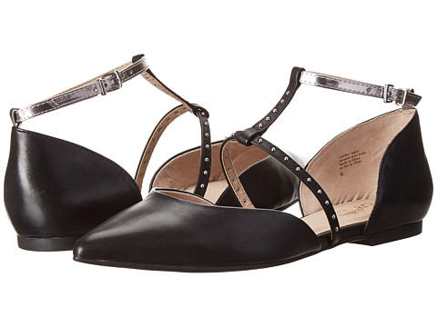 Seychelles - Uncovered (Black Leather) Women's Flat Shoes