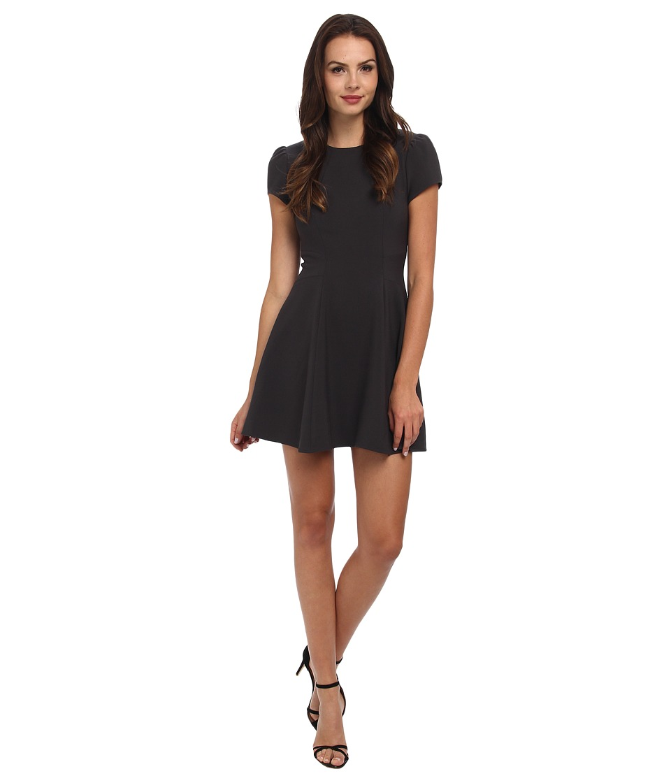 Graham and Spencer - BOD4168 Suiting Dress (Charcoal) Women's Dress