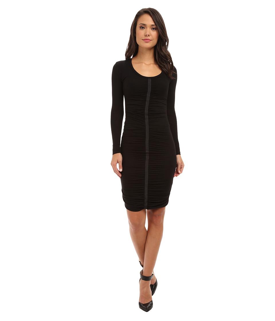 Joe's Jeans - Winter Drape Dress (Black) Women's Dress