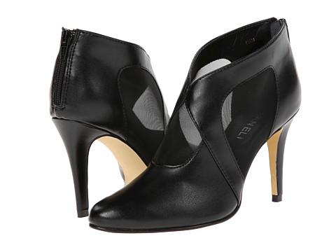 Vaneli - Cailyn (Black Ferns Nappa/Black Mesh) Women's Zip Boots