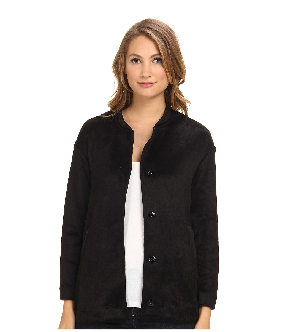 Graham and Spencer - PFJ4120 Pony Fleece Jacket (Black) Women's Coat