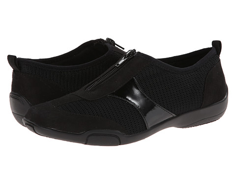LifeStride - Sarius (Black Nylon/Mesh) Women's Shoes