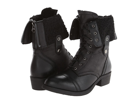Wanted - Bobby (Black) Women's Lace-up Boots