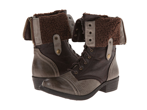 Wanted - Bobby (Brown) Women's Lace-up Boots