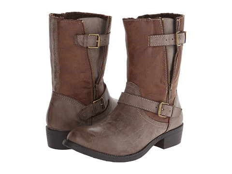 Wanted - Barney (Taupe) Women's Zip Boots
