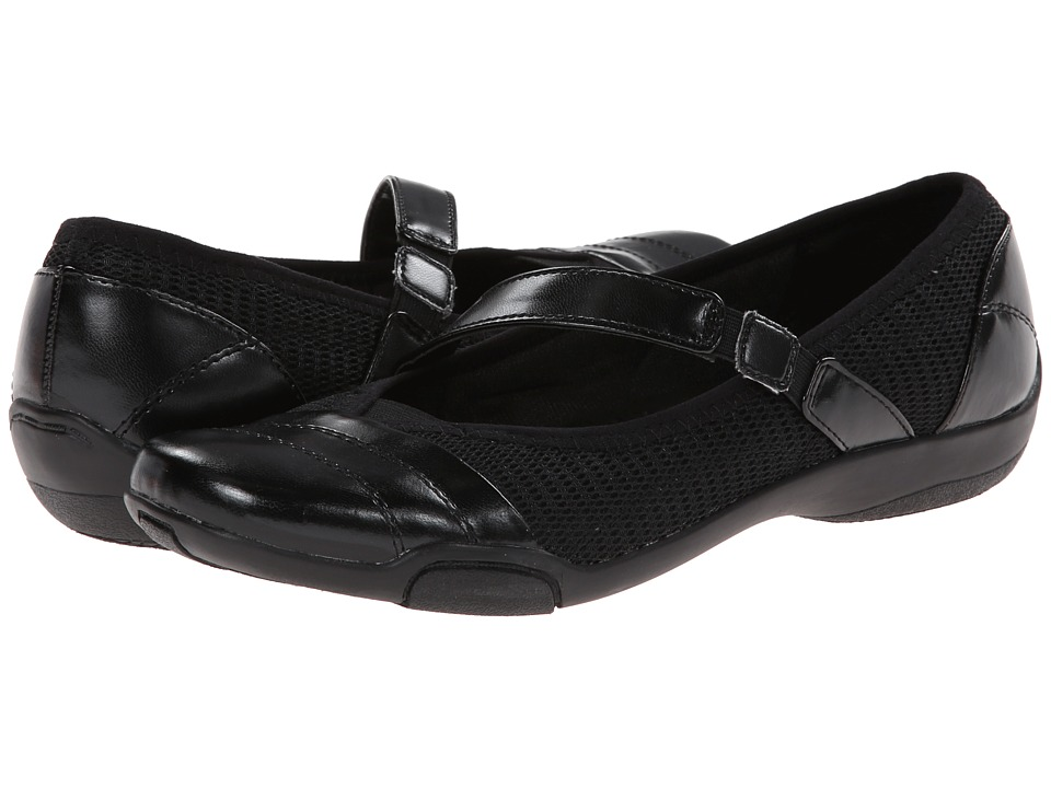 LifeStride - Sprack (Black Nylon/Mesh) Women's Shoes