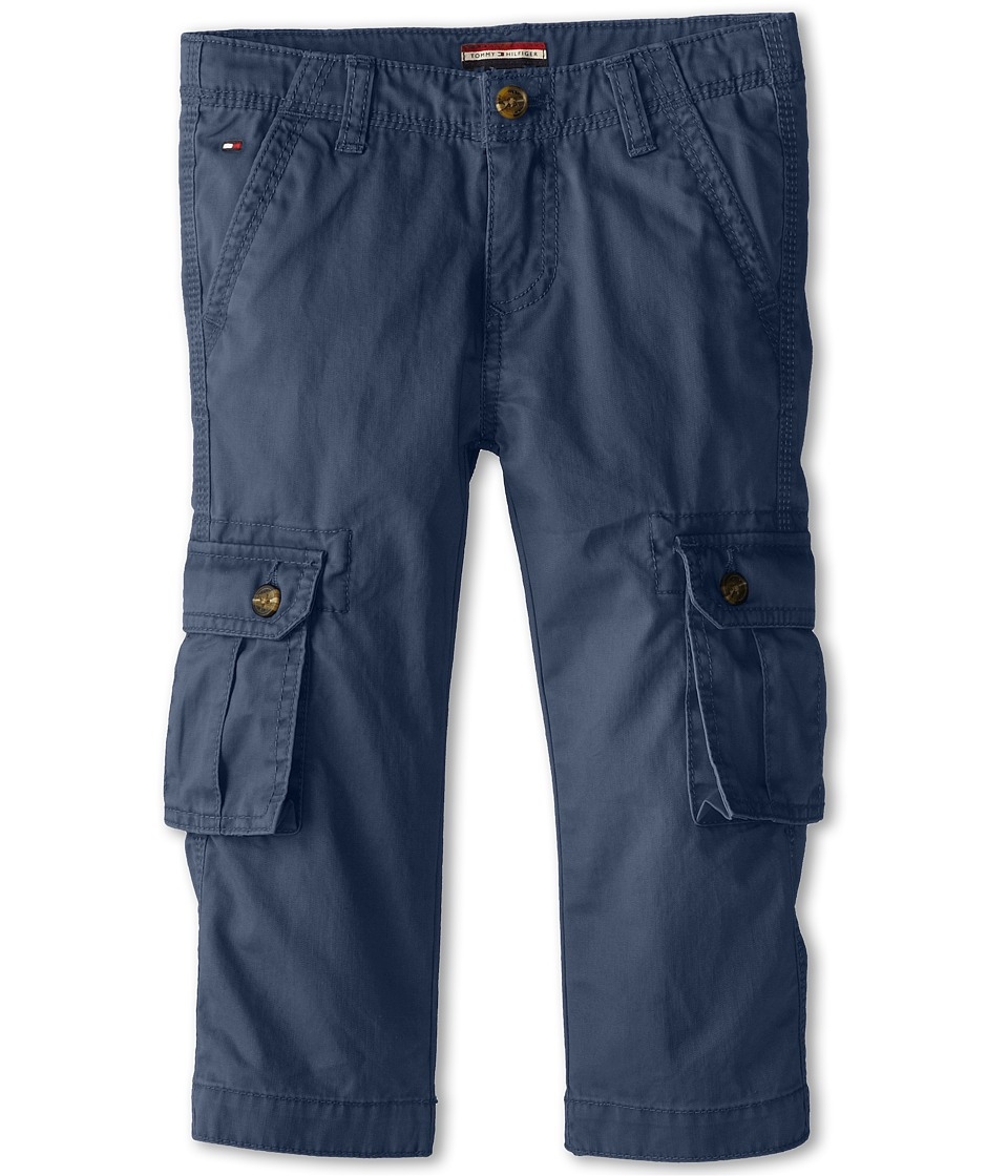 Tommy Hilfiger Kids - Back Country Cargo Pant (Toddler/Little Kid) (Worn Indigo) Boy's Casual Pants