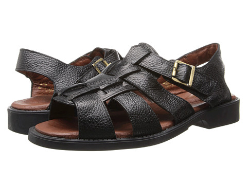 Fitzwell - Brandon (Black Leather) Men